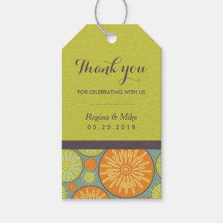 Etiquetas geométricas del regalo del favor del etiquetas para regalos
