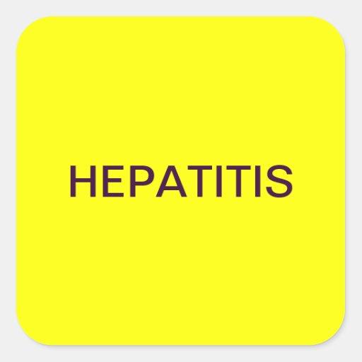 Etiquetas médicas de la carta de la hepatitis