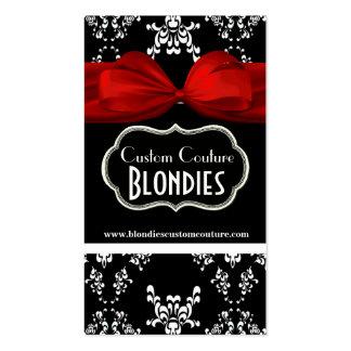 Etiquetas negras y blancas elegantes del regalo tarjetas de visita