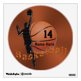 Etiquetas personalizadas del baloncesto para las p