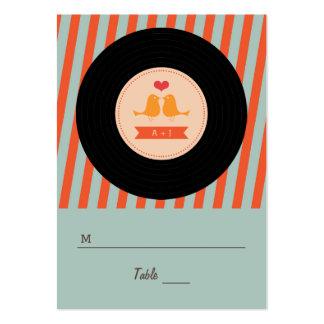 Etiquetas retras modernas del acompañamiento de lo plantilla de tarjeta de negocio