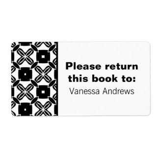 Etiquetas sin esfuerzo del Bookplate de la belleza Etiqueta De Envío