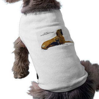 Etiquette is to blame the dog pet tee shirt