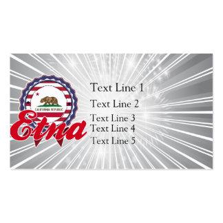 Etna, CA Business Cards