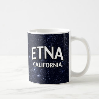 Etna California Coffee Mug