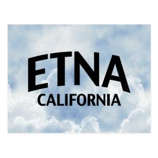 Etna California Postcard