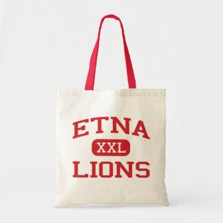 Etna - Lions - Senior - Etna California Canvas Bag