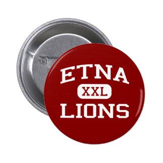 Etna - Lions - Senior - Etna California Pinback Button
