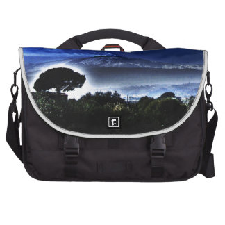 Etna s evening mist laptop bag
