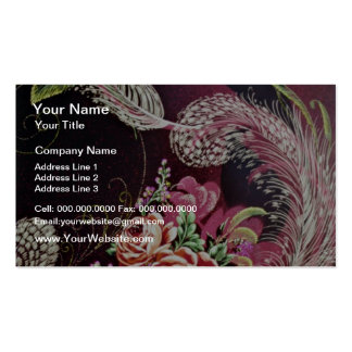 Etna Yellow flowers Business Card
