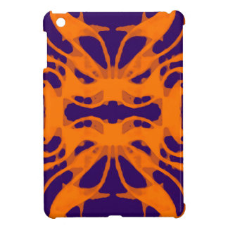 Etnic purple and orange iPad mini cases