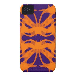 Etnic purple and orange iPhone 4 Case-Mate case