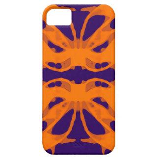 Etnic purple and orange iPhone SE/5/5s case