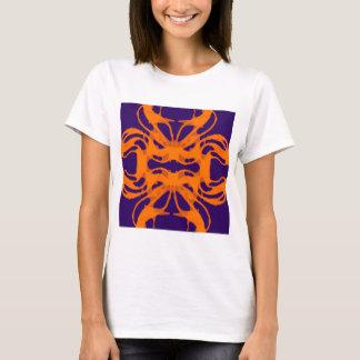 Etnic purple and orange T-Shirt