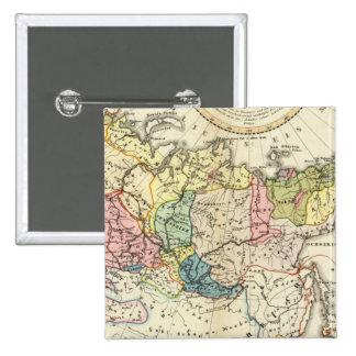 Etnografía del imperio ruso pin cuadrado