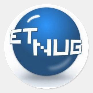 ETNUG Round Logo Sticker