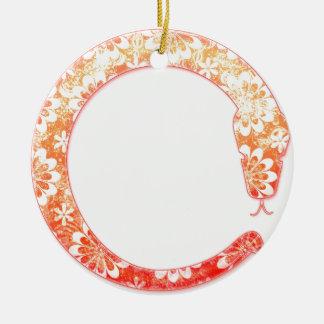 Eto Snake 2013 Ceramic Ornament