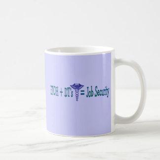 ETOH Job Security--Funny Nurse Gifts Coffee Mug