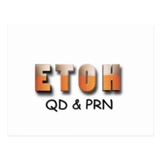 ETOH QD and PRN Postcard