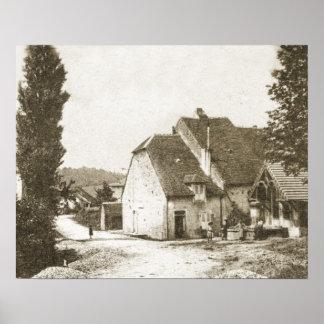 Etoile, el Jura, Franche Comte Poster