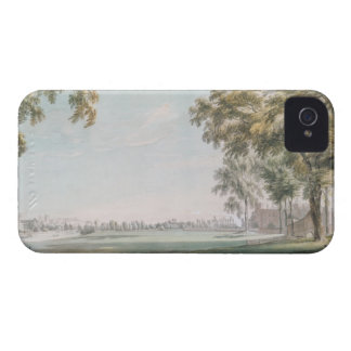 Eton College and Windsor from the Playing Fields iPhone 4 Case
