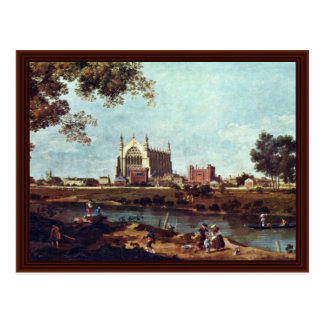 Eton College By Canaletto Post Card
