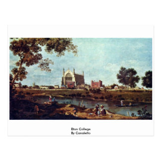 Eton College By Canaletto Postcard