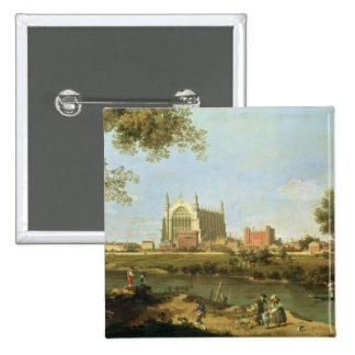 Eton College, c.1754 Pinback Button