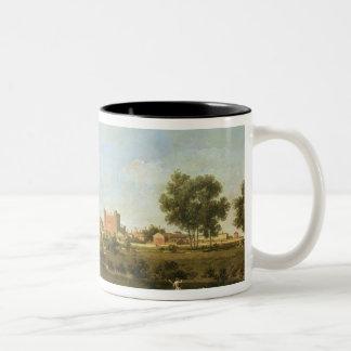 Eton College, c.1754 Two-Tone Coffee Mug