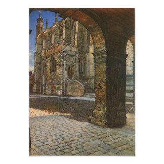 Eton College Chapel by Anna Alma Tadema Custom Invites