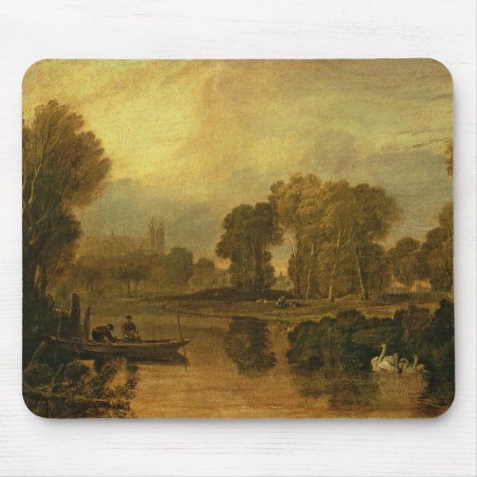 Eton College from the River, or The Thames at Mouse Pad