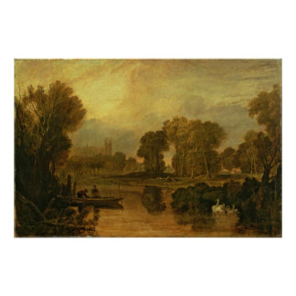 Eton College from the River, or The Thames at Poster