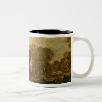 Eton College from the River, or The Thames at Two-Tone Coffee Mug
