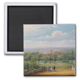 Eton College from the terrace of Windsor Castle Magnet