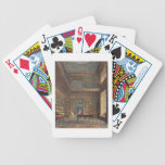 Eton College Library, from 'History of Eton Colleg Bicycle Playing Cards