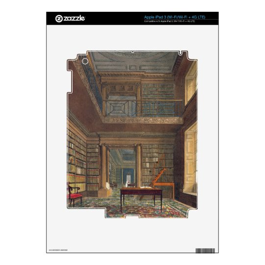 Eton College Library, from 'History of Eton Colleg iPad 3 Skins