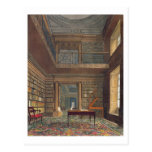 Eton College Library, from 'History of Eton Colleg Postcards