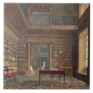 Eton College Library, from 'History of Eton Colleg Tile