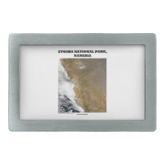 Etosha National Park Picture Earth Geography Belt Buckle