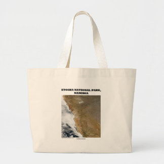 Etosha National Park (Picture Earth) Large Tote Bag