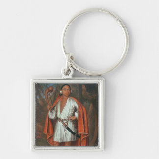 Etow Oh Koam, King of the River Nations, 1710 Keychain