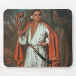 Etow Oh Koam, King of the River Nations, 1710 Mouse Pad