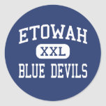 Etowah Blue Devils Middle Attalla Alabama Stickers