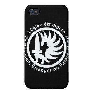 Étrangère de 2 representantes Légion iPhone 4/4S Fundas