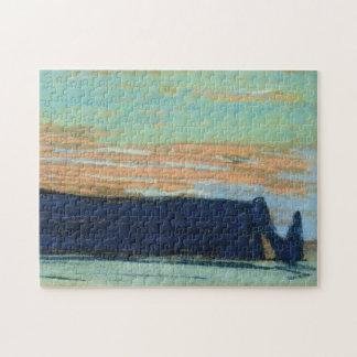 Etretat Arch & Aval Cliff Monet Fine Art Puzzle