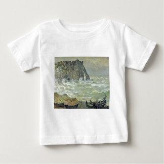 Étretat, Rough Sea (1883) Infant T-shirt