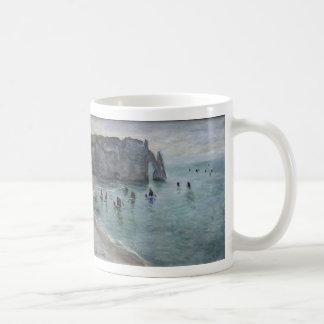 Etretat, The Aval door (Porte d'Aval) Claude Monet Classic White Coffee Mug