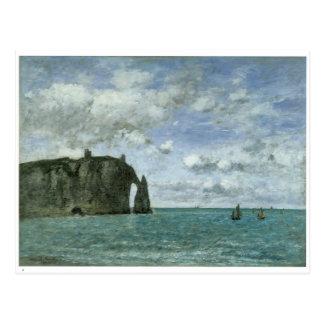 Etretat, the Porte d'Aval,1890 Post Card
