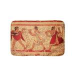 Etruscan musicians bath mats