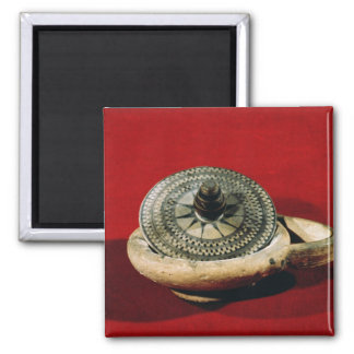 Etruscan perfume holder 2 inch square magnet
